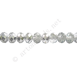 *Comet Argent Light-4x6mm Chinese Machine Cut Crystal A+