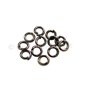 Jump Ring - Gun Metal Plated - 0.6x3.5mm - 250pcs