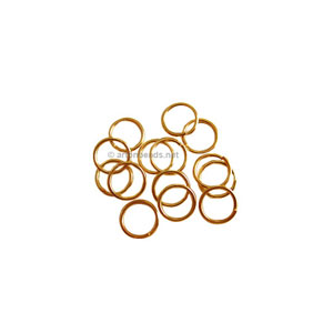 Jump Ring - 18K Gold Plated - 0.7x4mm - 1000pcs