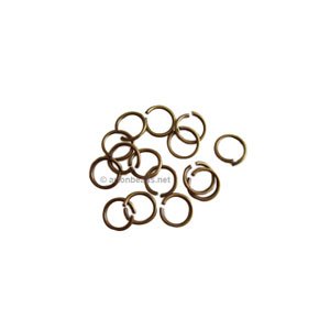 *Jump Ring - Antique Brass Plated - 0.7x4mm - 200pcs