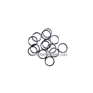 Jump Ring - Gun Metal Plated - 0.7x4mm - 1000pcs