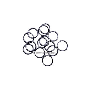 Jump Ring - Gun Metal Plated - 0.7x5mm - 200pcs