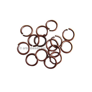Jump Ring - Antique Copper Plated - 0.8x6mm - 200pcs