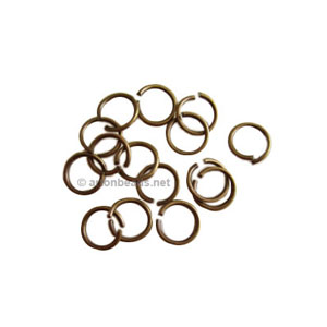 Jump Ring - Antique Brass Plated - 0.8x6mm - 200pcs