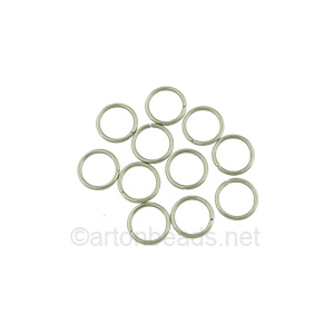 Jump Ring - Stainless Steel - 0.7x6mm - 200pcs