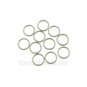 Jump Ring - Stainless Steel - 1.0x8mm - 100pcs