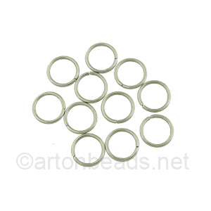 Jump Ring - Stainless Steel - 1.0x1.0mm - 100pcs