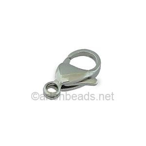 Lobster Clasp - Stainless Steel - 15mm - 4pcs