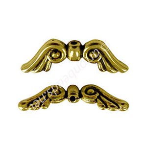 Metal Bead - Antique Gold Plated - 8x20mm - 10pcs