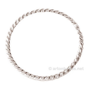 *Metal Link - 925 Silver Plated - 40mm - 10ps