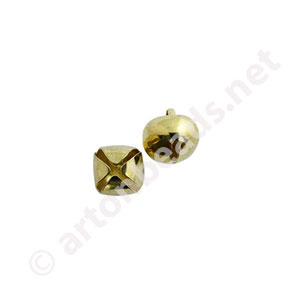 Bell - 18K Gold Plated - 10mm - 20pcs