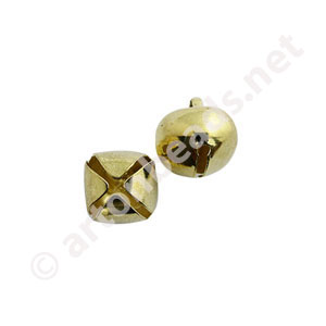 Bell - 18K Gold Plated - 12mm - 15pcs