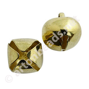 Bell - 18K Gold Plated - 25mm - 4pcs