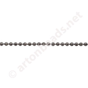 Chain(1.5H) - Gun Metal Plated - 1.5mm - 1m