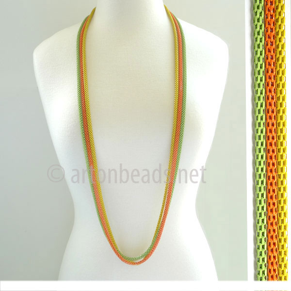 Pre-made Multi-strand Chain - 3-strand - 4.8mm - 1 M