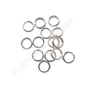 Sterling Silver Split Ring - 5mm - 15pcs