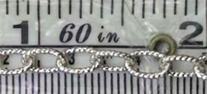 *Sterling Silver Footage Chain - 4.5X6.9mm - 1 Foot