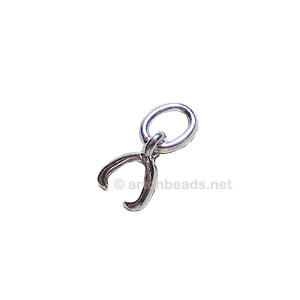 Sterling Silver Bail - 5mm - 3pcs