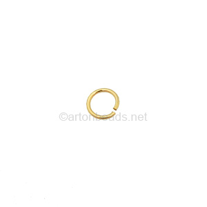 14K Gold Filled Jump Ring - 5mm - 10pcs