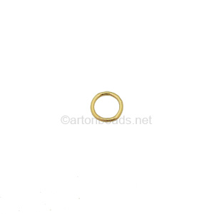 14K Gold Filled Soldered Ring - 5mm - 10pcs