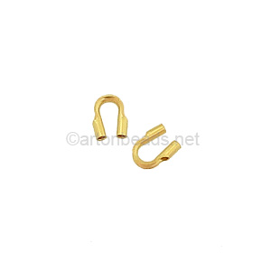 "14K Gold Filled Wire Guard - 0.021"" - 8p"