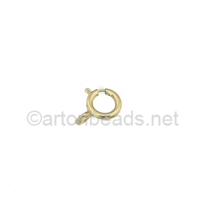 14K Gold Filled Spring Clasp - 5mm - 8pcs