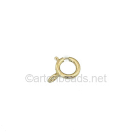 14K Gold Filled Spring Clasp - 6mm - 4pcs