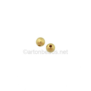 14K Gold Filled Beads - 2mm - 50pcs