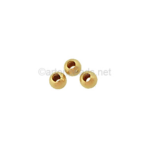 14K Gold Filled Beads - 3mm - 15pcs