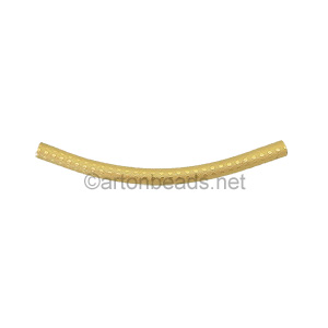 Vermeil Tube - 2.5X45 mm - 1pcs
