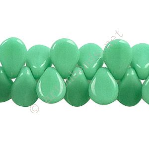 Preciosa Pip Beads - Turquoise Alab. Opaque - 5/7mm - 69pcs