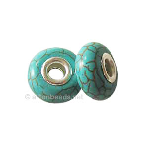 Dyed Turquoise Bead