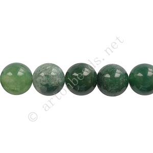 Indian Agate - Round - 8mm