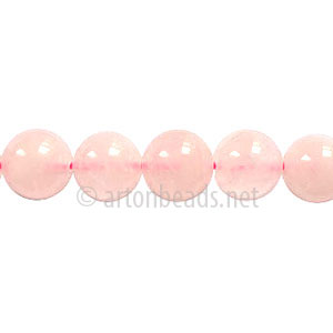 Rose Quartz - Round - 8mm