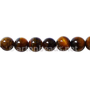 Tiger's Eye - Round - 6mm