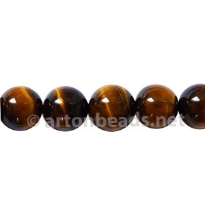 Tiger's Eye - Round - 8mm