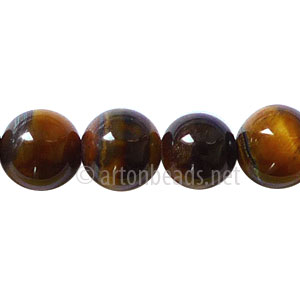 Tiger's Eye - Round - 10mm