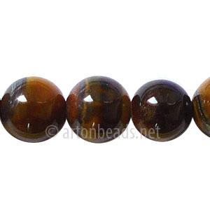 Tiger's Eye - Round - 12mm