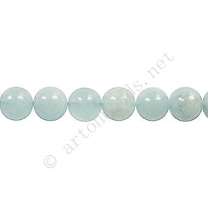 Aquamarine - Round - 6mm