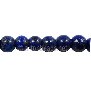 Enhanced Lapis Lazuli - Round - 6mm