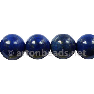 Enhanced Lapis Lazuli - Round - 10mm