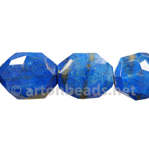 Lapis Lazuli - Faceted Irregularities - 30x25x12mm