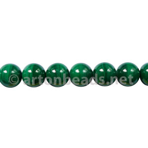 Malachite - Round - 6mm