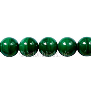 Malachite - Round - 8mm