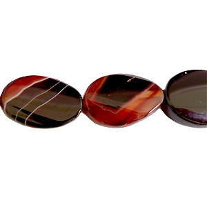Agate - Twist Oval - 29x19mm