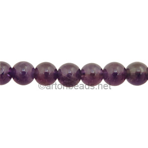 Amethyst - Round - 6mm - Click Image to Close