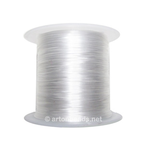 Flat Clear Elastic - 0.7mm x 8m