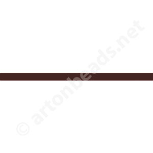 Genuine Leather Cord - Brown - 2mm x 2M