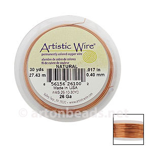 Artistic Wire - Natural - 0.40mm - 30Y