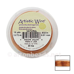 *Artistic Wire - Natural - 0.81mm - 15Y